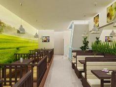Konsep Warung Kafe Lesehan 9 – Dengan Sekat