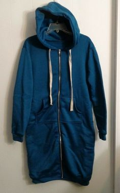 8c215a90aa8 Long Hooded Active Wear Jacket Woman s Size XL  Unbranded  HoodieJacket   Casual