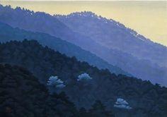 「東山魁夷「晩鐘」」記事の画像 Japan Art, Japanese Artists, Illustrations, Mountains, Landscape, Nature, Inspiration, Biblical Inspiration, Japanese Art