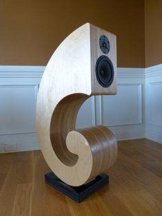 nautilus belauensis loudspeakers. $10,000.00, via Etsy.