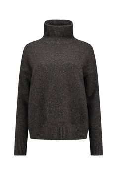 Vince Pullover met Kol Cashmere H Charcoal - V451077663 060 - NIEUW Bloom Fashion