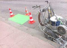 Bernay, une ville ma ville 2: Bande cyclable à Bernay enfin... (Fin).
