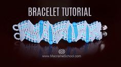 Artistic Macramé Bracelet Tutorial by Macrame School. For more Micro Macrame ideas and Free Tutorials please visit: http://www.MacrameSchool.com or see all b...