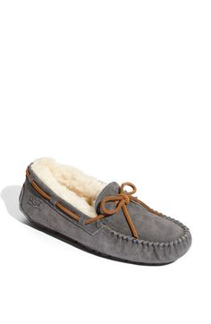 UGG® Australia 'Dakota' Slipper (Women) available at #Nordstrom Size 9. Color Pewter