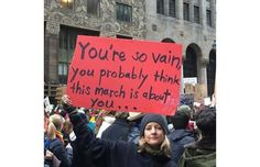 25 Hilarious Protest Signs Made By Hilarious Women (Slide #40) - Offbeat