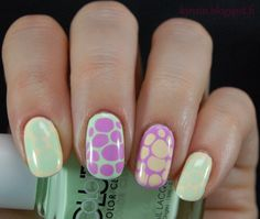 Kynsin: Dinosauruksen munia Nailart, Nail Polish, Beauty, Nail Polishes, Polish, Beauty Illustration, Manicure, Nail Polish Colors