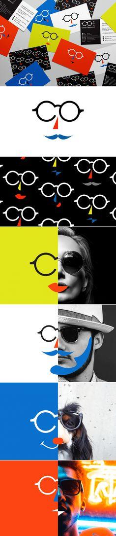 Clear Optics Business Card Design and Art Direction by Anthony Lam | Fivestar Branding Agency – Design and Branding Agency & Curated Inspiration Gallery #branding #businesscards #artdirection #design #behance #dribbble #pinterest #fivestarbranding