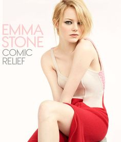 Emma Stone: The Actress Makes Her Vogue Cover Debut #Vogue #fashion #movies