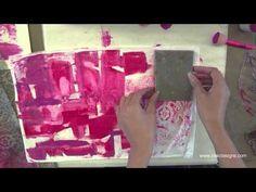 mixed media HEARTS art journaling by traci bautista