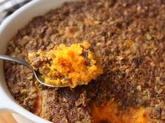 Food Wishes Video Recipes: Sweet Potato Casserole with Pistachio Crust – Save…