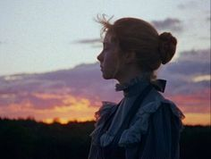 """""""The eastern sky above the firs was flushed faintly pink from the reflection of the west, and Anne was wondering dreamily if the spirit of color looked like that…""""   ― L.M. Montgomery, Anne of Green Gables"""