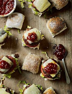 Smoky Pork Sliders with BBQ Sauce