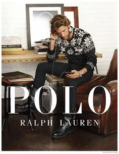 Polo Ralph Lauren Holiday 2014 Campaign-Soul Artist Management models James Norley and Justin Hopwood get into the holiday spirit with Polo Ralph Lauren for its… Ralph Lauren Shop, Preppy Boys, The Fashionisto, Holiday Fashion, Holiday Style, Stylish Men, Nice Dresses, Pants, Menswear