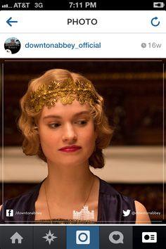 Downton Abbey-Lady Rose headband