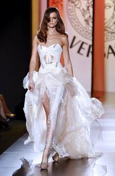 Wedding dresses: versace wedding dresses