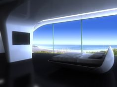 Futuristic Bed futuristic bed- or this bed magetic and floating in my room