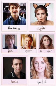 Stars of the Harry Potter movies and there signatures! Images Harry Potter, Harry Potter Jokes, Harry Potter Characters, Harry Potter World, Hery Potter, Fans D'harry Potter, Estilo Harry Potter, Mundo Harry Potter, Albus Dumbledore