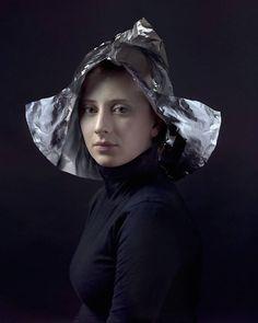 Flemish Art inspired Portraits and Headress recreated with Modern Materials – Fubiz Media