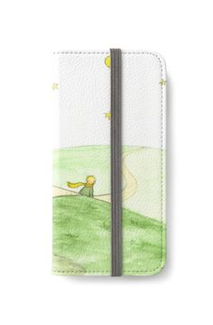 The Little Prince iPhone Wallet by @savousepate on @redbubble #iphonewallet #phonewallet #drawing #watercolor #painting