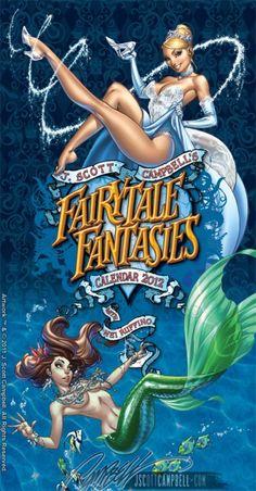 12-Calendario-2012-de-princesas-de-Disney-sexys-por-Scott-Campbell