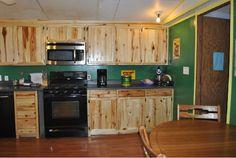 john deere kitchen wood