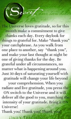 The universe loves gratitude. Law of attraction. Grateful. Thankful. Attract abundance.    www.instagram.com/laurie_somma