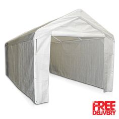 Portable Garage Carport Canopy Rhino Shelters Instant