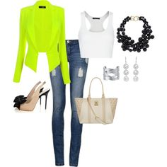 """""""lime on"""" by zippy7flaca on Polyvore"""