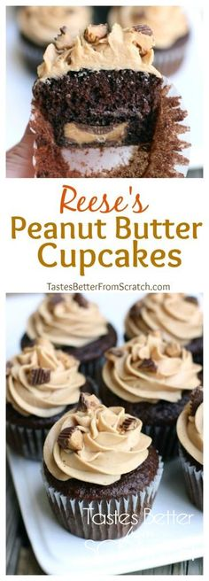 Reese_Peanut_Butter_CupcakesCollage