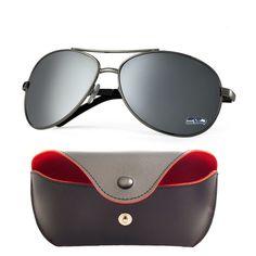 Seattle Seahawks Aviator Sunglasses and Case