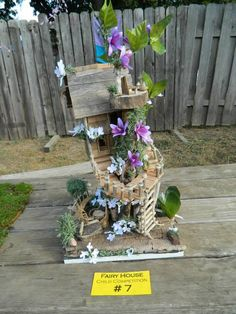 Fairy House entry at the 2013 Minnesota Renaissance Festival, by a child
