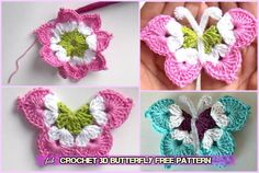 Free butterfly standard video tutorial - Crochet Works
