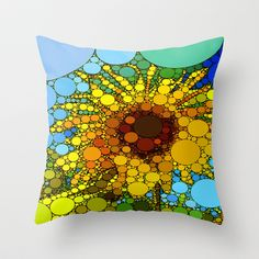 :: Golden Rays :: Throw Pillow by GaleStorm Artworks - $20.00