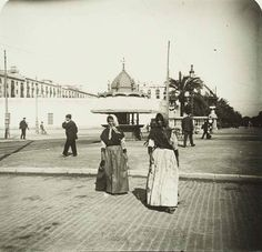 Barcelona, Port 1900.