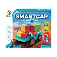 Challenge your kids to build a car by using 5 different blocks in this unique Smart Toys and Games SmartCar Puzzle Toy logic game! Cars Preschool, Preschool Puzzles, Logic Games, Logic Puzzles, 3d Puzzles, Brain Teaser Puzzles, Therapy Games, Smart Car, Puzzle Toys