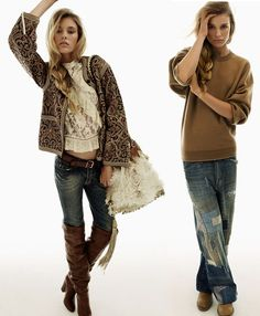 Bohemian Chic - Sometimes I see an outfit so wonderful, I think, how am I going to live without it.