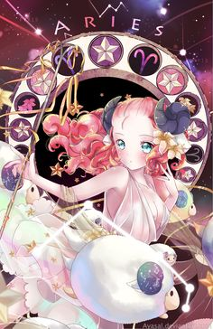 Aries [Zodiacal Constellations] by Ayasal.deviantart.com on @DeviantArt- CLS