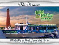The Manatee, Scenic River Cruise - Daytona Beach, Florida