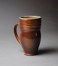 Wood Fired Mug Beer Stein by JohnMcCoyPottery on Etsy, $30.00