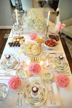 Pretty Table setup.