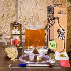 1 Gallon Pale Ale Beer Starter Kit by HomebrewSupply on Etsy