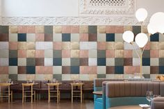 Tin Tiles mural by Mr Perswall