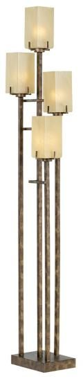 SKU #: 85-2247-30   City Heights Floor Uplight- Bronze x2