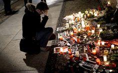 Charlie Hebdo Paris terrorist attack - Je Suis Charlie protests