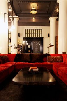 Hotels & Lodging: Ace Hotel in New York : Remodelista
