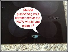 To remove this plastic bag melted to a flat top stove: Norwex Cleaning paste with spirisponge to clean. Wipe clean with the Norwex enviro cloth then polish with window cloth. Norwex Products, Norwex Biz, Norwex Cleaning, Green Cleaning, Cleaning Products, Cleaning Hacks, Flat Top Stove, Enviro Cloth, Ceramic Stove Top