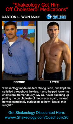 Shakeology has not only helped people lose weight but has helped people with their cholesterol and blood pressure. In this Shakeology review we see that Gaston L. was able to lower his cholesterol so much that his Doctor was wondering what he did! What can Shakeology help you with? Learn more here: http://www.onesteptoweightloss.com/shakeology-reviews-1 #ShakeologyResults