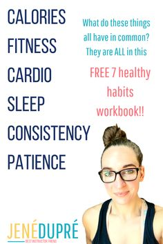 Here are the 7 healthy habits that WILL create a health and fitness lifestyle you can enjoy! Ever use health habits and got nowhere? Frustrating! Well this workbook breaks down each category with information and fits it seamlessly into your daily life!  #healthfitness #health #fitness #healthy #healthcoach #fitnesscoach #trainer Fitness Tips, Fitness Motivation, Exercise Motivation, Fitness Workouts, Healthy Mind, Healthy Habits, Health And Wellness, Health Fitness, Positive Body Image