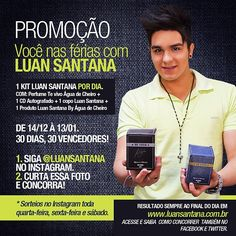 Hoje rola sorteio aqui no Instagram! Bora curtir a imagem? Saiba mais em: www.luansantana.com.br - @luansantana- #webstagram