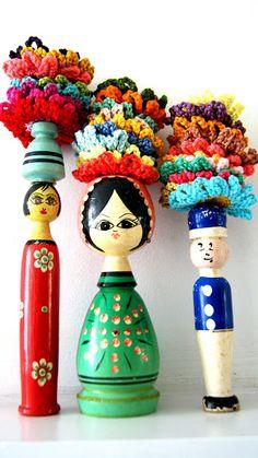 ingthings: Crochet flowers